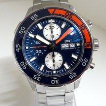 IWC Aquatimer Chronograph gebraucht 44mm Blau Chronograph Stahl