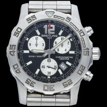 Breitling Colt Chronograph II Steel 44mm Black No numerals