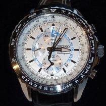 Seiko Sportura new Quartz Chronograph Watch with original box and original papers SNAF01P1