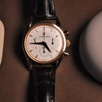 Universal Genève Compax Rose gold 36mm White