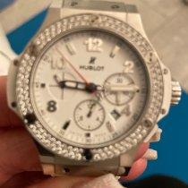 Hublot Big Bang 44 mm Stahl 44mm Weiß Arabisch Schweiz, NIEDERGLATT