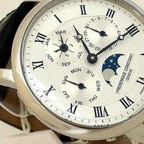 Frederique Constant Manufacture Slimline Perpetual Calendar Acier Argent France, arnouville