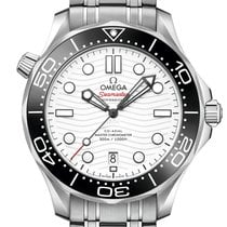 Omega Seamaster Diver 300 M Steel 42mm White No numerals United Kingdom, London