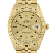 Rolex 16018 Yellow gold 1979 Datejust 36mm pre-owned United States of America, Georgia, Atlanta