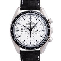 Omega Speedmaster Professional Moonwatch Acero 42mm Blanco