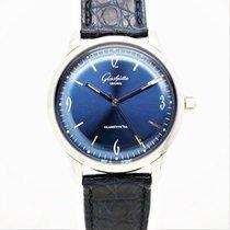 Glashütte Original Sixties Acier 39mm Bleu