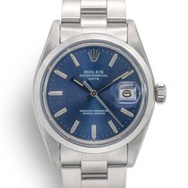 Rolex Oyster Perpetual Date Steel 34mm Blue No numerals United Kingdom, London