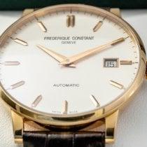 Frederique Constant Slimline Automatic pre-owned 40mm White Crocodile skin