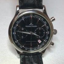 Jaeger-LeCoultre Master Control gebraucht 34mm Schwarz Chronograph Leder