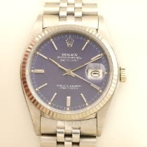 Rolex Datejust 16019 Very good White gold 36mm Automatic