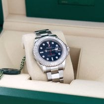 Rolex Platinum Automatic Blue No numerals 40mm new Yacht-Master 40