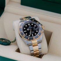 Rolex Sea-Dweller Ouro/Aço 43mm Preto Sem números