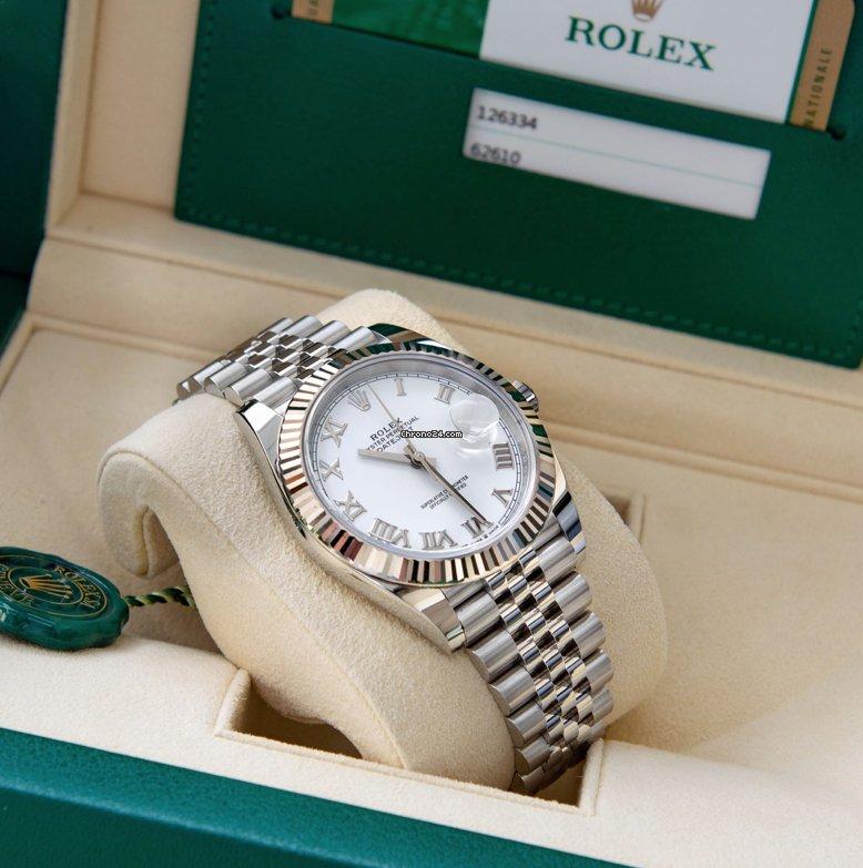 Rolex Datejust 126334-0024 2021 new