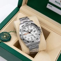 Rolex Explorer II Steel 42mm White No numerals United States of America, Florida, Miami