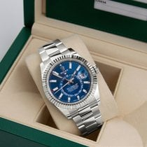 Rolex Sky-Dweller Steel 42mm Blue No numerals United States of America, Florida, Miami