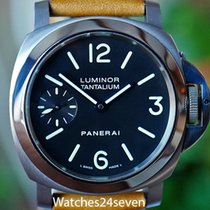 Panerai Manual winding Black Arabic numerals 44mm pre-owned