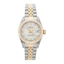 Rolex Lady-Datejust Gold/Steel 26mm White No numerals UAE, Dubai
