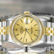 Rolex 16233 Gold/Steel 1991 Datejust 36mm pre-owned United Kingdom, Derbyshire