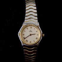 Ebel Classic Gold/Steel 23mm Gold Roman numerals