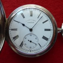 Very good Silver 57mm Manual winding