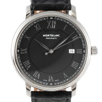 Montblanc Tradition Steel 40mm Black