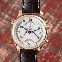 Longines Red gold Automatic Silver 41mm new Master Collection
