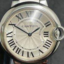 Cartier Ballon Bleu usados 36mm Plata Acero