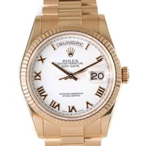 Rolex Day-Date 36 Rose gold 36mm White United Kingdom, Kingston Upon Hull