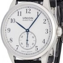Union Glashütte 1893 Small Second Steel 34,00mm White Arabic numerals