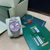 Rolex Datejust Steel 36mm Pink UAE, dubai