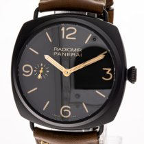 Panerai Radiomir 3 Days 47mm Cerámica 47mm Marrón Arábigos