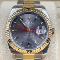 Rolex Datejust Turn-O-Graph Gold/Steel 36mm Grey No numerals