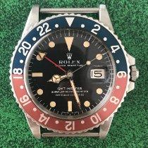Rolex GMT-Master Aço 40mm Preto Sem números Brasil, 04538082