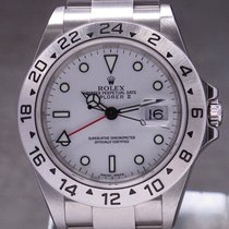 Rolex Explorer II 16570 Very good Steel 40mm Automatic United Kingdom, London, Paris & Brussels face to face delivery only - Other destination shipment with express courier