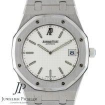Audemars Piguet Royal Oak Jumbo usados 39mm Blanco Fecha Acero