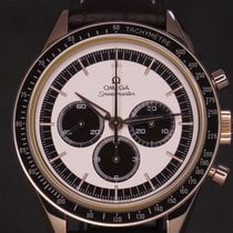 Omega Speedmaster Professional Moonwatch pre-owned 39.7mm Silver Chronograph Tachymeter Buckle