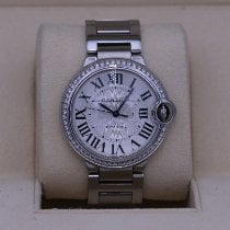 Cartier Ballon Bleu 36mm Сталь 36mm Cеребро Римские