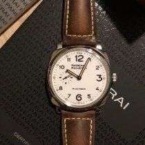 Panerai Radiomir 1940 3 Days Automatic Acier 42mm Blanc Arabes France, ISSY LES MOULINEAUX