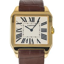 Cartier Santos Dumont Yellow gold 35mm White Roman numerals United States of America, Maryland, Baltimore, MD