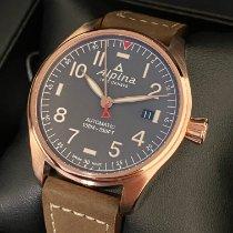 Alpina Startimer Pilot Automatic nuevo 2021 Automático Reloj con estuche y documentos originales AL-525G3S4