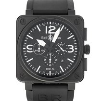 Bell & Ross BR 01-94 Chronographe Steel 46mm Black Arabic numerals United States of America, Maryland, Baltimore, MD