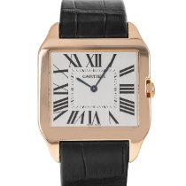 Cartier Santos Dumont Rose gold 35mm Silver Roman numerals United States of America, Maryland, Baltimore, MD