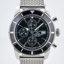 Breitling Superocean Heritage Chronograph Steel 46mm Black No numerals United States of America, California, Pleasant Hill