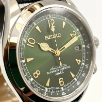 Seiko pre-owned Automatic 38mm Green Mineral Glass 20 ATM