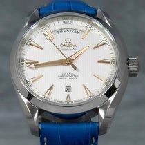 欧米茄 Seamaster Aqua Terra 钢 41.5mm 银色 无数字