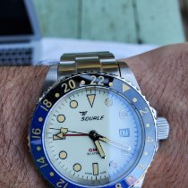 Squale Steel 42mm Automatic Y1545 pre-owned United States of America, Massachusetts, Newton