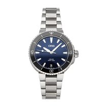 Oris Aquis Date Steel 36.5mm Blue No numerals United States of America, Pennsylvania, Bala Cynwyd