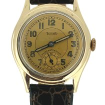 Tudor Rose gold Manual winding Gold Arabic numerals 30mm pre-owned