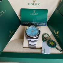 Rolex Oyster Perpetual Steel 41mm Blue No numerals United States of America, Pennsylvania, Douglassville