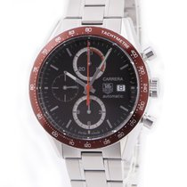 TAG Heuer Carrera Calibre 16 pre-owned Brown Chronograph